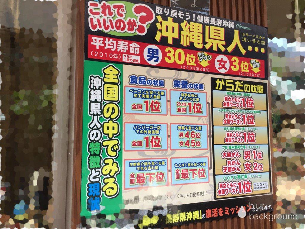 沖縄が健康長寿に戻るために「必要なこと」