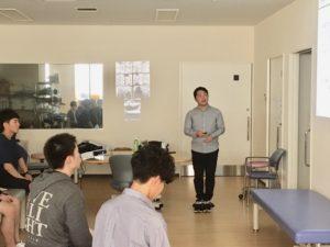 沖縄県外でも講演依頼がくるジーハンズの痛みに対する治療技術