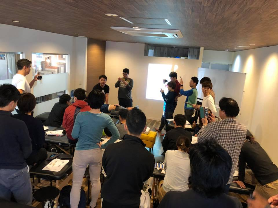 《講師活動》福岡にて専門家向け「筋膜治療セミナー」